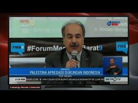 Ucapan Terima Kasih Palestina Untuk Indonesia