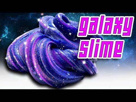 How to Make Fluffy Slime / Glow in the Dark / DIY Slime / No Blacklight Fluffy Slime Recipe - YouTube