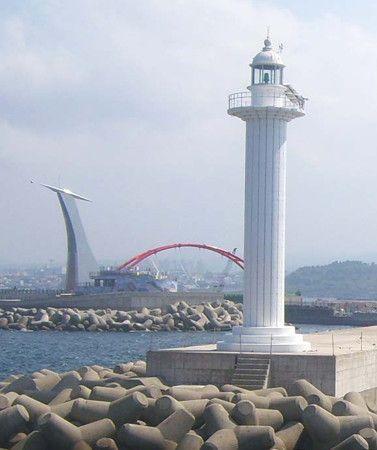 Jeju Hang East Breakwater, Jeju City, South Korea