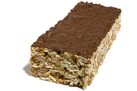 Delicious breakfast bars. I modified the recipe a bit....    No oats, just rice cereal - only agave - oat bran for the wheat germ and add flax seeds. YUMMY!!