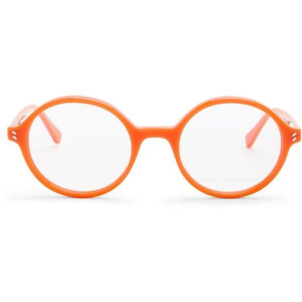 Stella McCartney Women\'s Round Optical Frames ($90) ❤ liked on ...