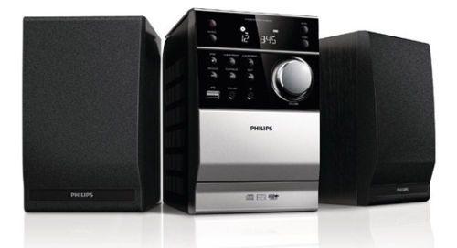 NEW Philips Classic Mini Audio MCM-1120 MP3 USB CD Player 10W Remote Control