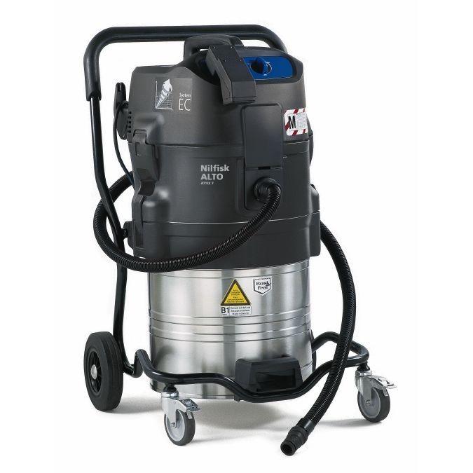 aspirador nilfisk para tipo de limpieza industrial