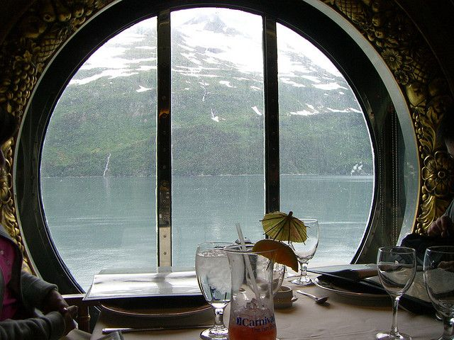 Everything tastes better when this is your view. Of course everything tastes wonderful on a Carnival ship!