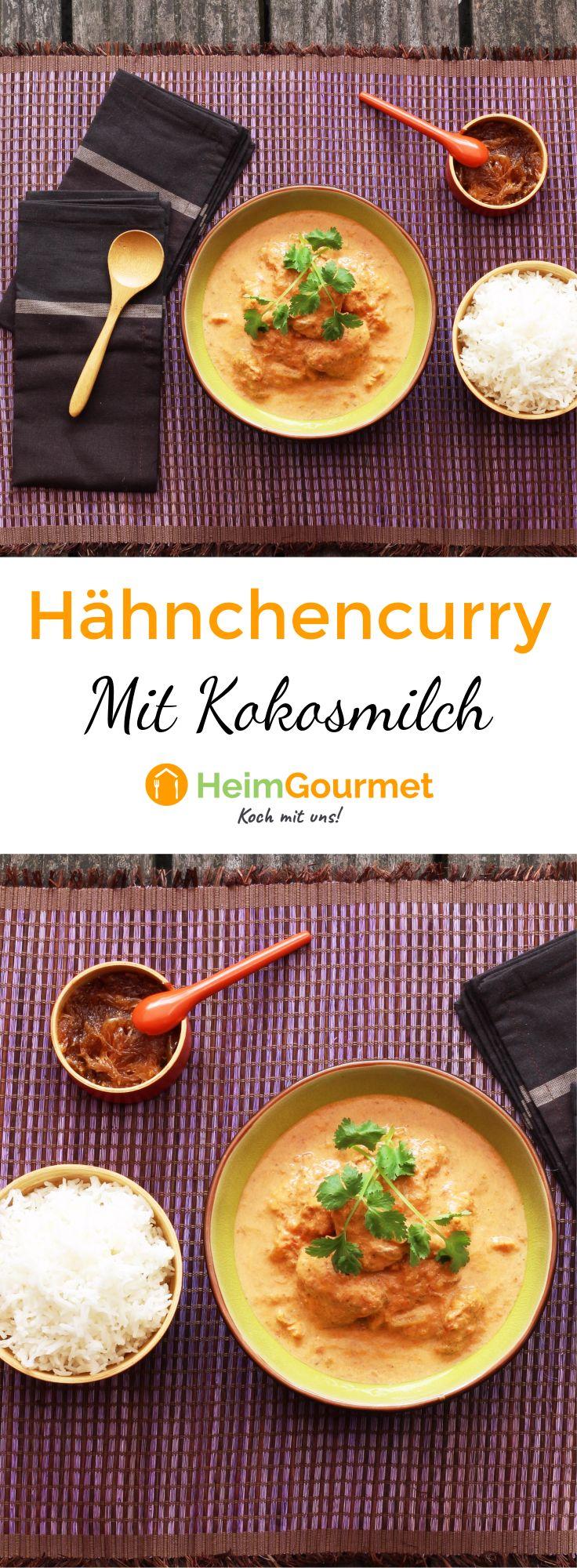 Curry ist ein absoluter Klassiker der indischen Küche. Wir zeigen euch, wie ihr ein leckeres Hähnchencurry mit Kokosmilch zu Hause zubereiten könnt.