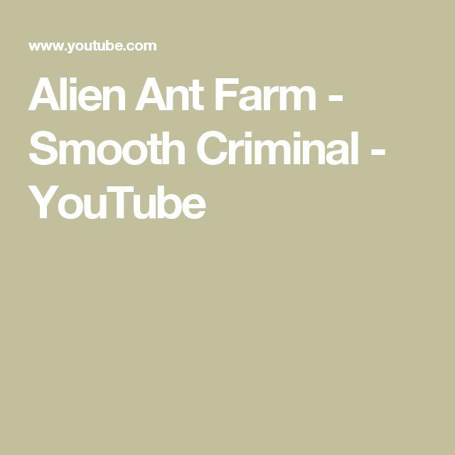 Alien Ant Farm - Smooth Criminal - YouTube