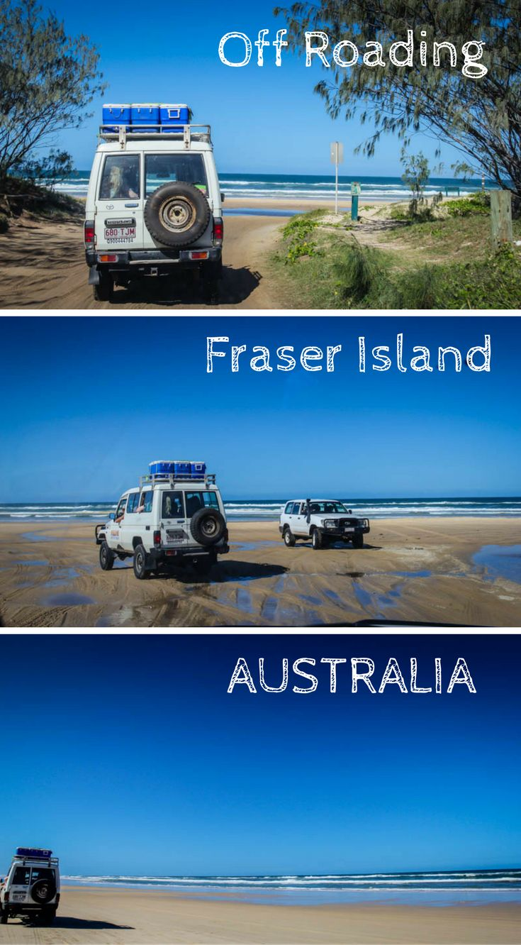 Off Roading and Bush Camping on Fraser Island is one of Australia's best adventures. Click to read about what it was like to explore this island by 4x4 http://www.divergenttravelers.com/fraser-island-4x4-road-driving-bush-camping/