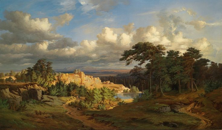 Open Landscape, oil on canvas, 73 x 122 cm