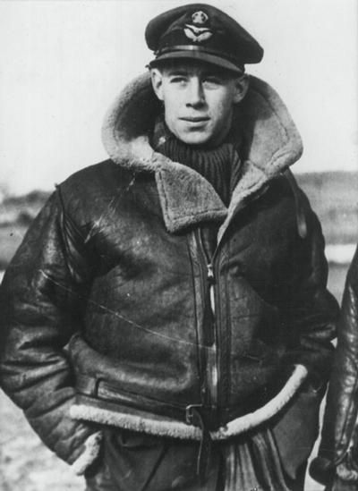 The RAF's first ace was New Zealander 'Cobber' Kain. He destroyed 17 enemy aircraft during the fighting in France before his tragic death in a flying accident.