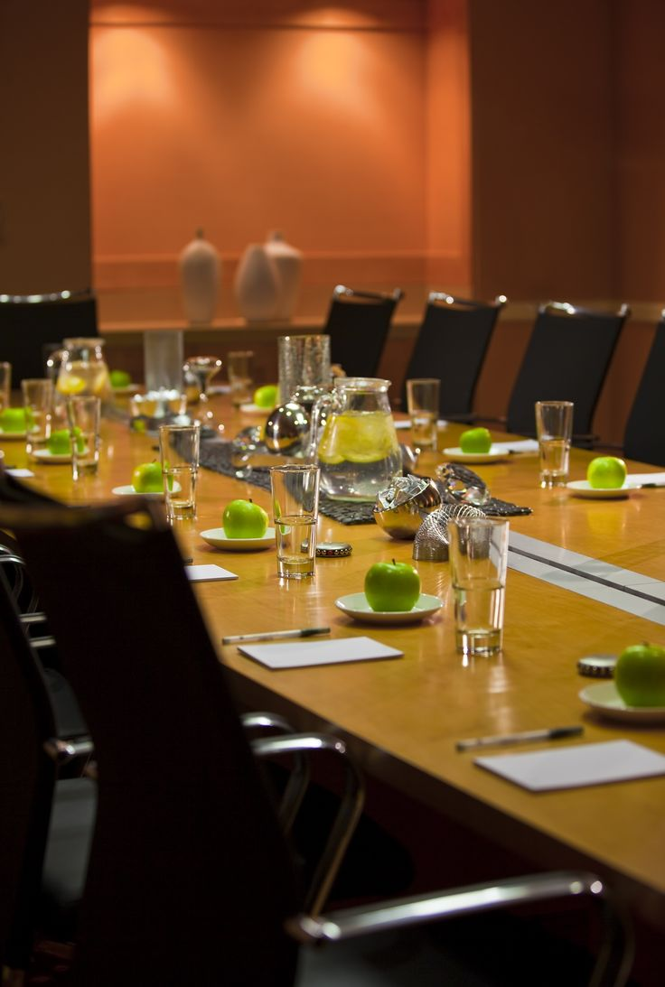 Boardroom - Maximum of 15 breakout meeting rooms, along with Exceptional Event Menus that will inspire you!