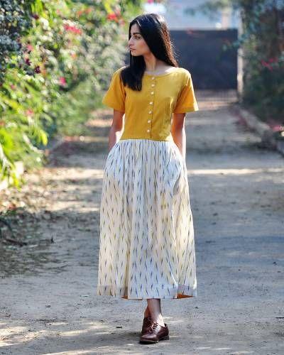 Marigold Shift DressI Shop at :http://www.thesecretlabel.com/khara-kapas
