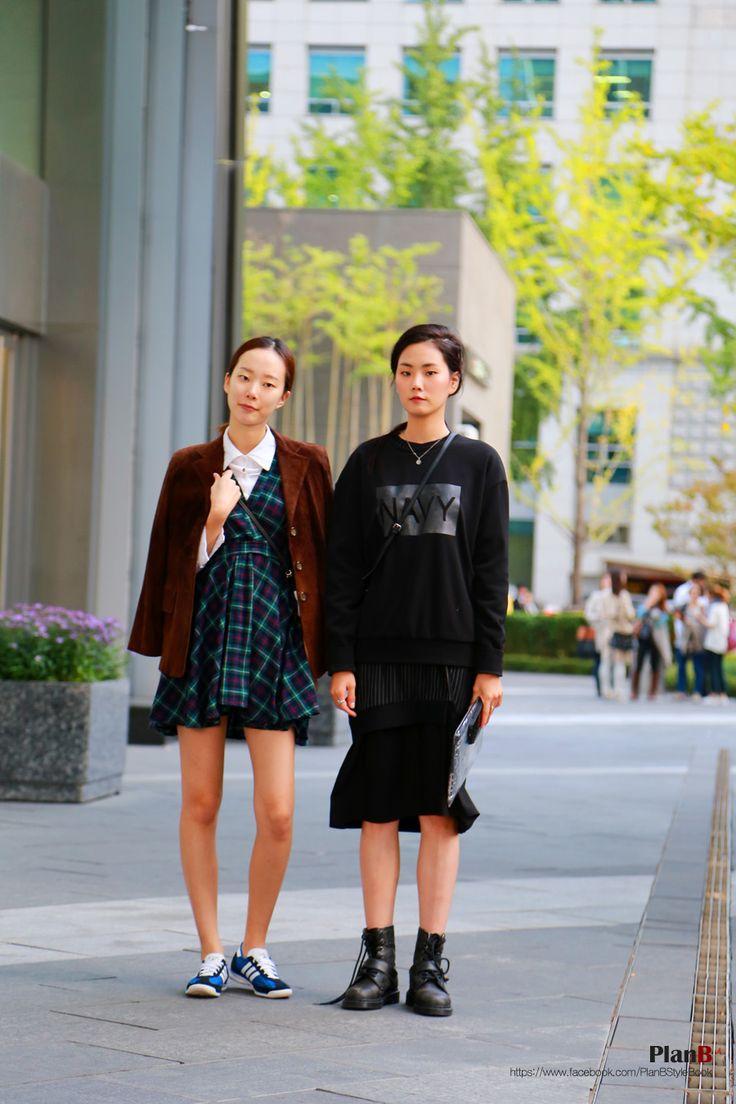 2014 S S Seoul Fashion Week Street Style