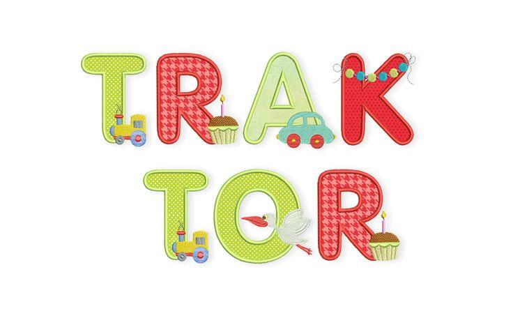Baby-Alphabet – T wie Traktor