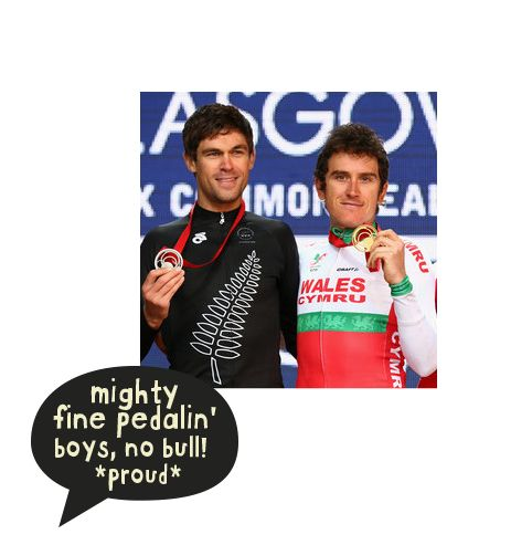 Jack Bauer and Geraint Thomas doin' us proud }:8 The Collective UK #nobull