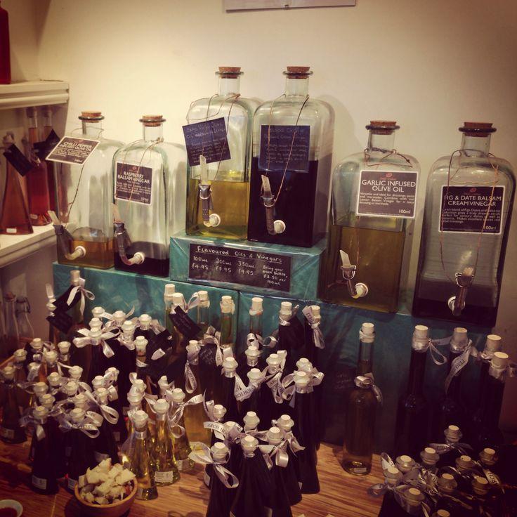 Oils & Vinegars @ Arch House Deli, Bristol #archhousedeli #deli #clifton #oil #vinegar