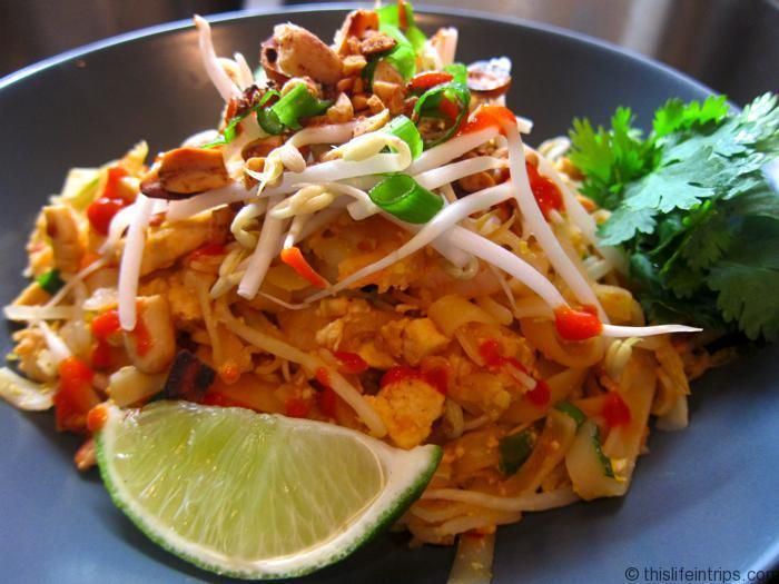 Almost Authentic Pad Thai Recipe - This Life in Trips #padthai #thaifood #foodporn