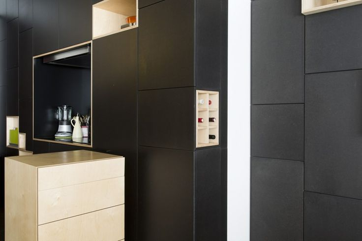 25 beste idee n over zwarte keukenkastjes op pinterest gekleurde keukenkasten zwarte keukens - Deco witte keuken ...