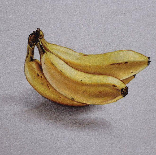 color de dibujo a lápiz de la fruta