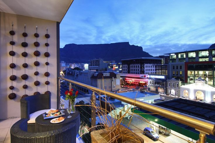 Beautiful view of Table Mountain, Cape Town