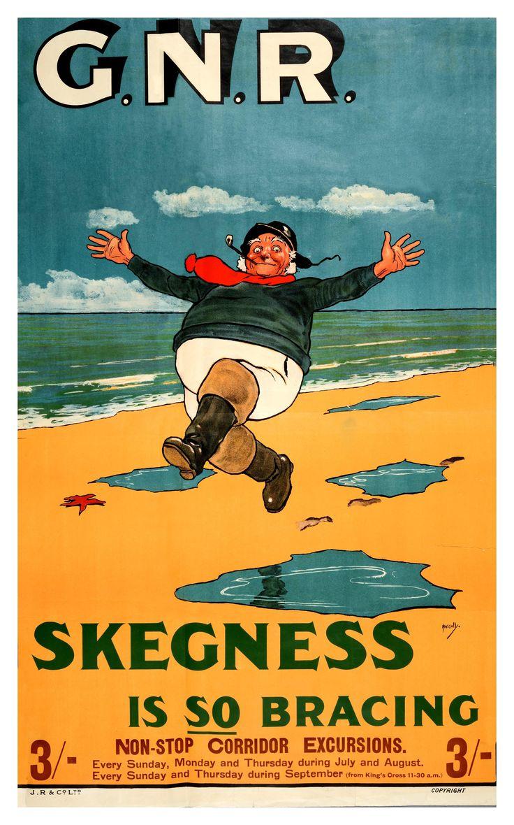 Gnr skegness is so bracing 1912 vintageads ads