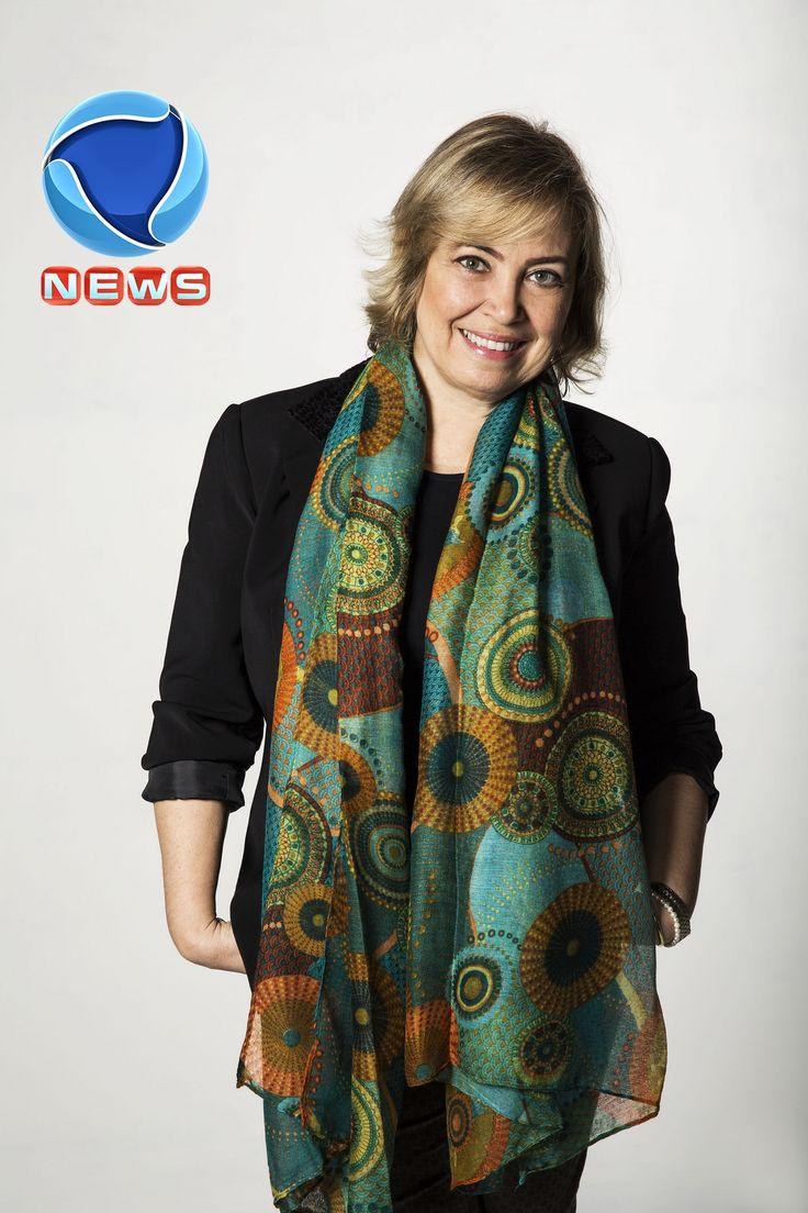 Especialista da FGV, professora Viviane Narducci, é destaque na Record News.  www.benditaimagem.com.br
