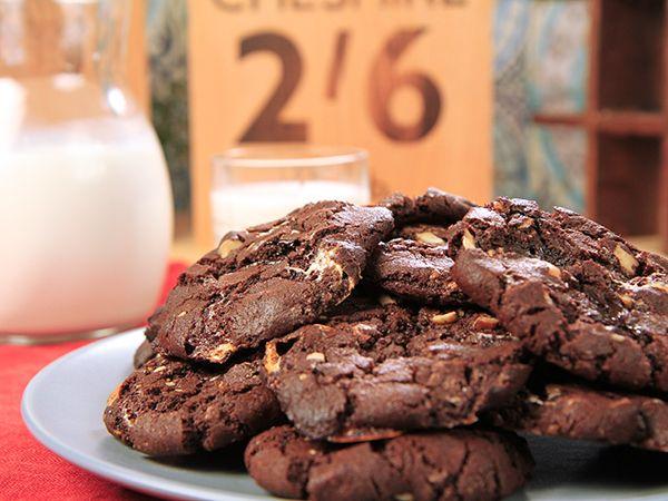 American cookies med marshmallows | Recept från Köket.se