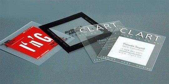 The 14 best Plastic business cards images on Pinterest San diego
