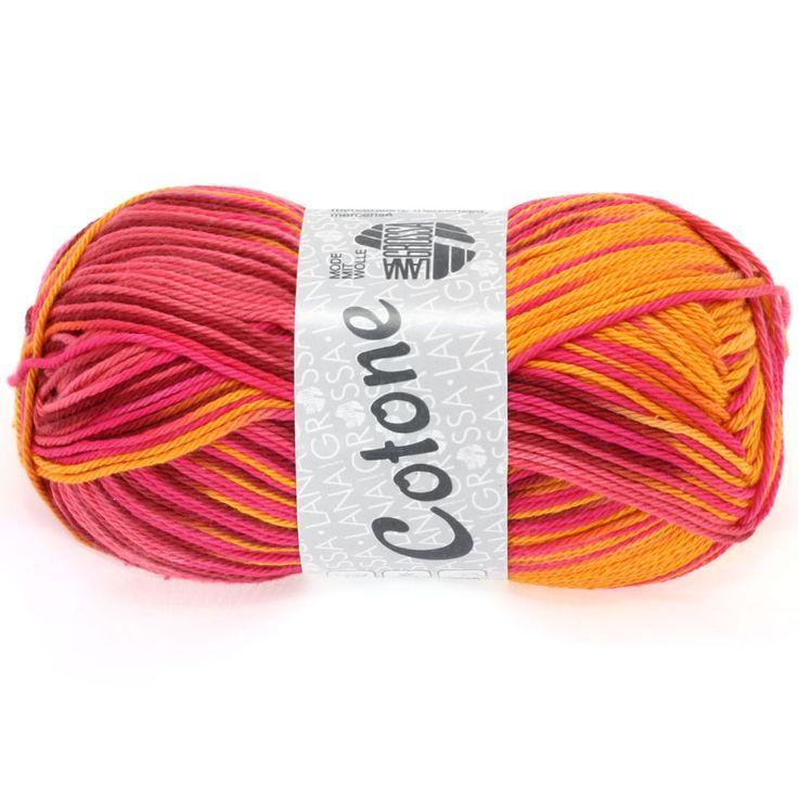 COTONE print 314-orange / raspberry / bordeaux / coral | EAN: 4033493150675
