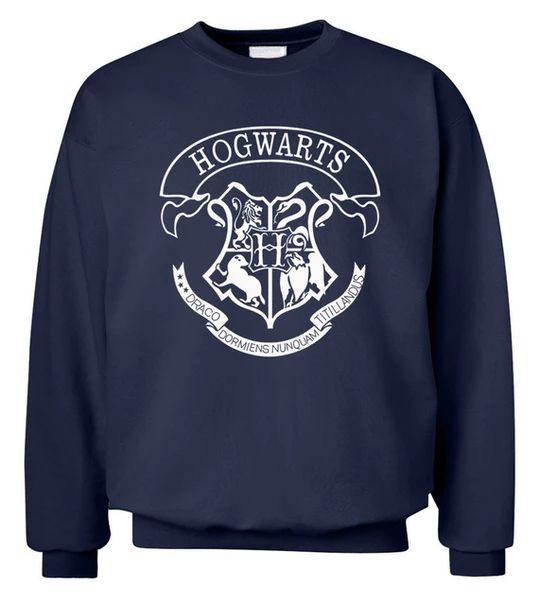 Hot Sale Hogwarts men sweatshirt 2018 new autumn winter casual fleece man hoodies fashion hipster hooded crop top clothes