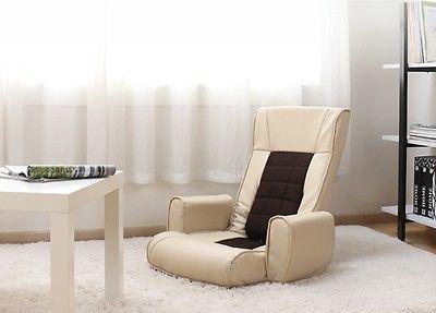 Folding Floor chair Armrest Japanese Style Tatami Chair Legless floor seat