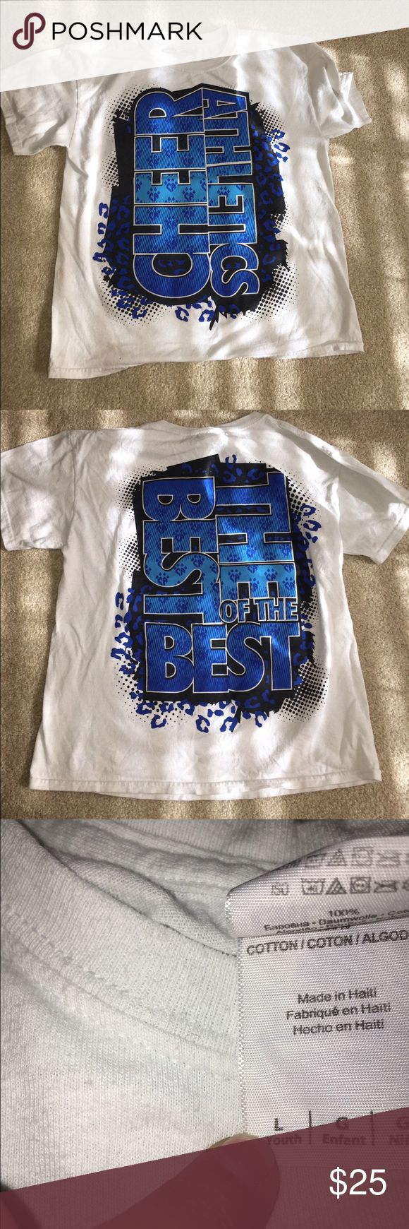 cheer athletics shirt CA shirt. great condition- only worn a few times. YL Other