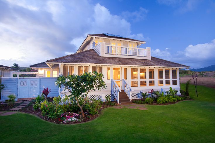 kauai plantation houses | ... Real Estate News: The Most Recent Home Sale in Kukui'ula on Kauai