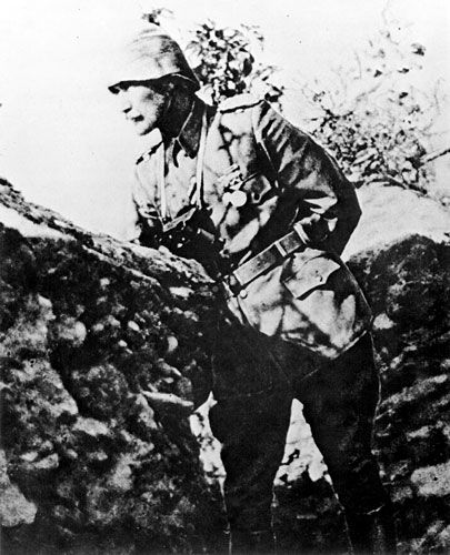 Lieutenant Colonel Mustafa Kemal, commander of the 19th Turkish Division at Gallipoli. [AWM A05319]