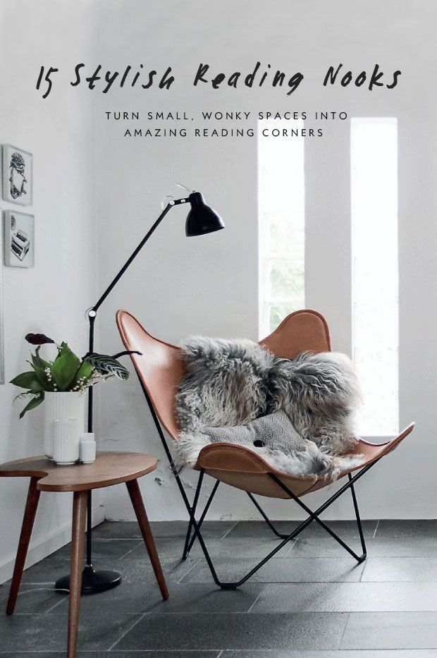 15 Inspiring and Stylish Reading Corners | Nordic Design