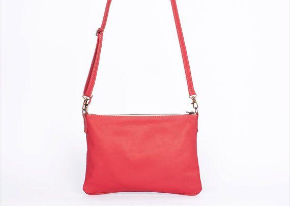 Small leather bag leather crossbody bag leather от Nubuckcuir