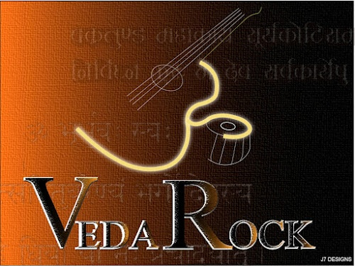 Concept cover for Veda Rock CD