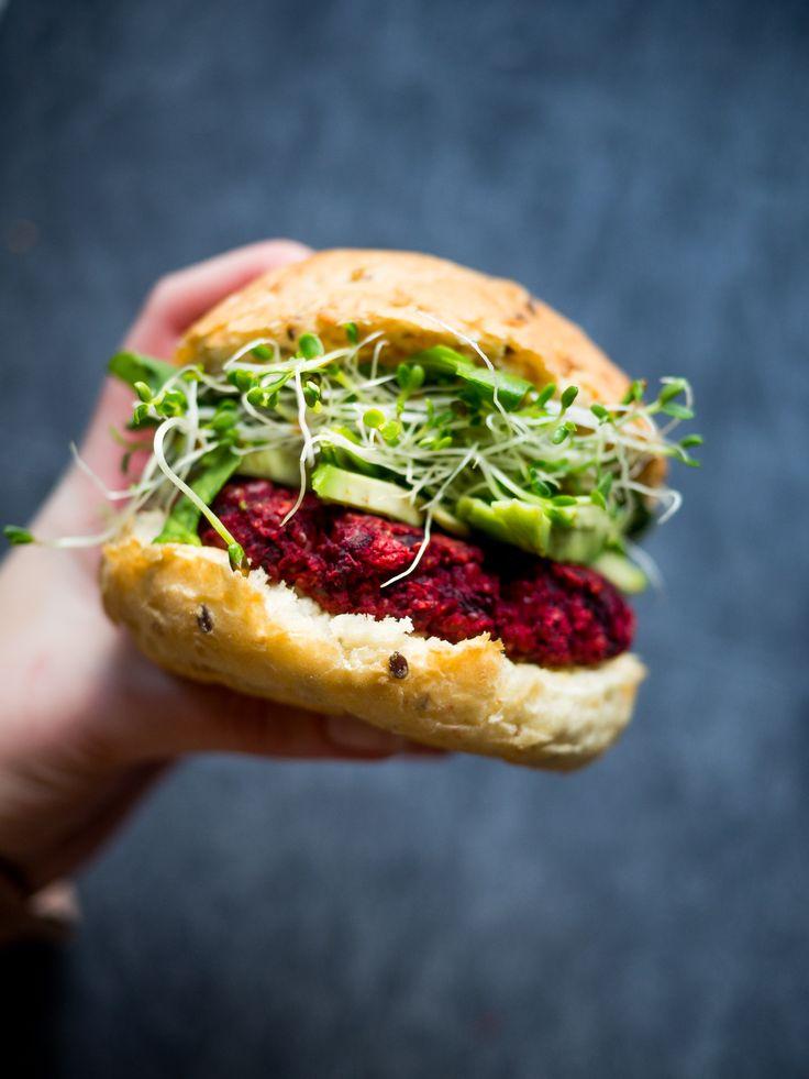 Beetroot Burgers (Vegan) - Feel Good Kitchen