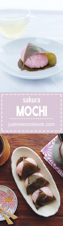 Sakura Mochi (桜餅) | Easy Japanese Recipes at JustOneCookbook.com
