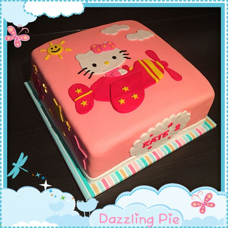 Hello Kitty cake made by Dazzling Pie