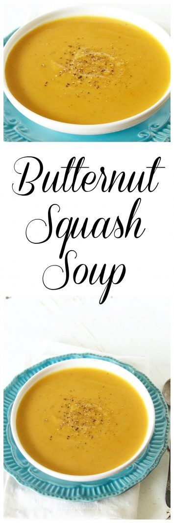 Butternut Squash Soup on www.cookingwithruthie.com is the perfect recipe to keep…
