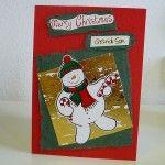 Christmas card craft for kids