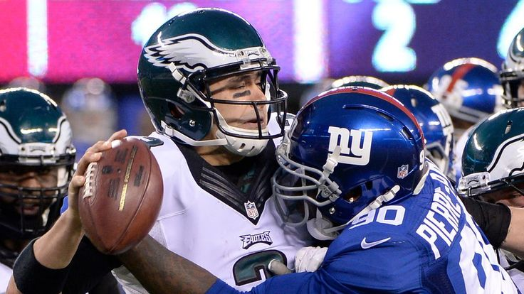 'Monday Night Football' 2015 live stream: How to watch Giants vs. Eagles online -  By Dave Hogg  @Stareagle on Oct 19, 2015, 7:00p -     The Eagles will have to find a way to stop Eli Manning.