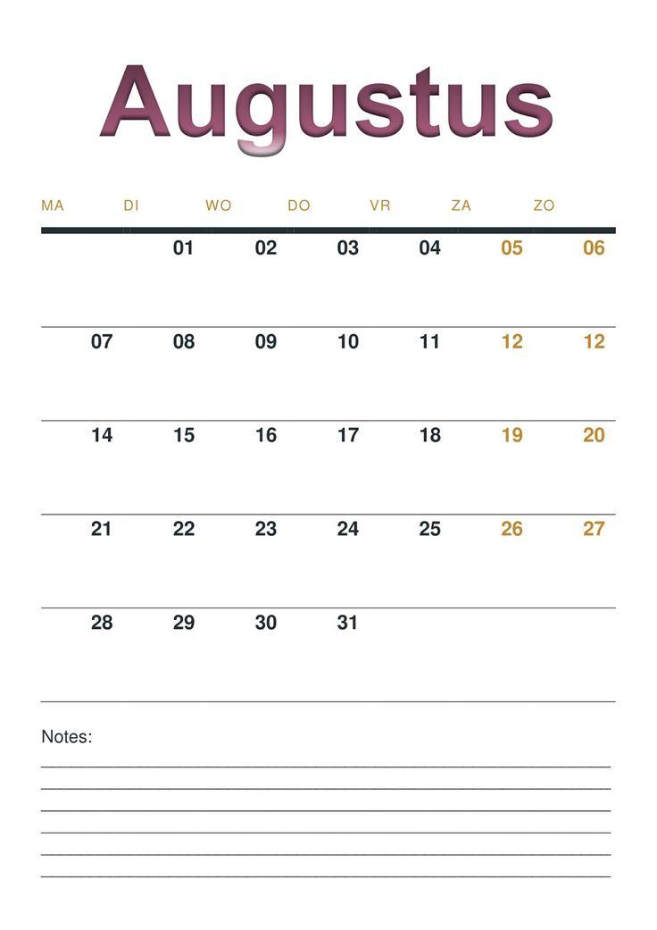 De eerste week van 2017 zit er alweer bijna op. Om dit jaar overzichtelijk te houden hebben we een handige maandkalender gemaakt!