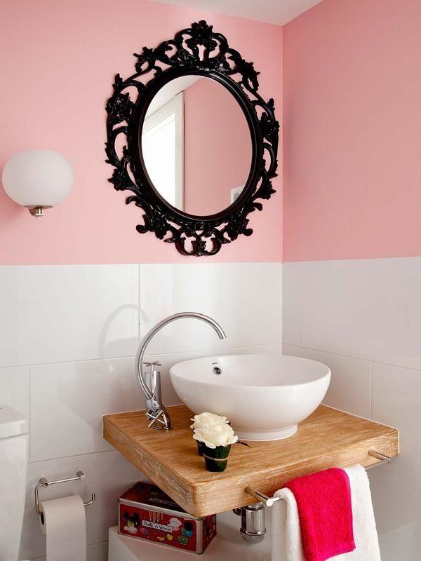 Die besten 25+ Rosa badezimmer designs Ideen auf Pinterest Rosa - schlaf gut traum sus muschel bett