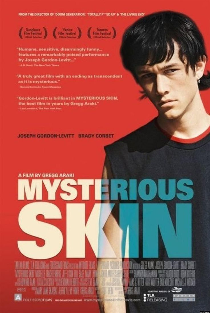 MYSTERIOUS SKIN (2004) - Following a childhood trauma, two boys set on very different paths. One becomes obsessed with UFO's, while the other (Joseph Gordon Levitt) becomes a gay hustler