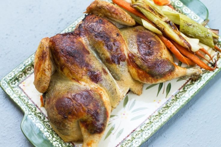 Roasted Spatchcocked Chicken | Low Carb | Pinterest