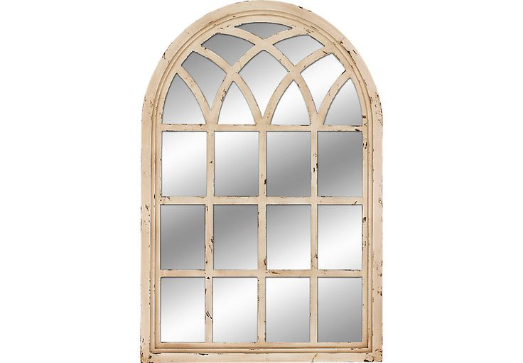 picture of St. Frances Cream Mirror from  Furniture