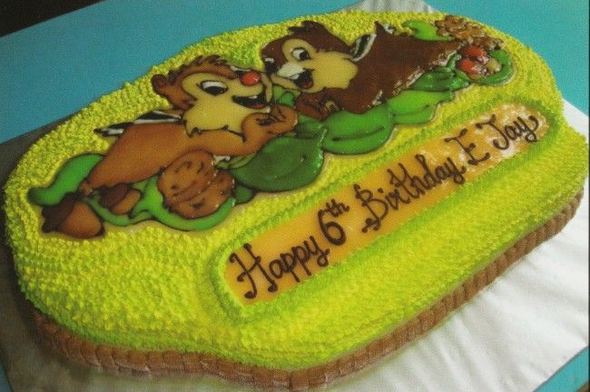 Chip N Dale Cake Ideas And Designs