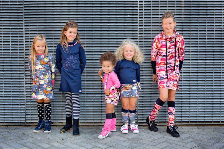 Cool, Urban, Classy en een tikkeltje Funky, dat is de Mu-Chica Girlslabel herfst ⁄ winter 2015 - 2016 meisjeskleding collectie. Unieke meisjeskleding in ...