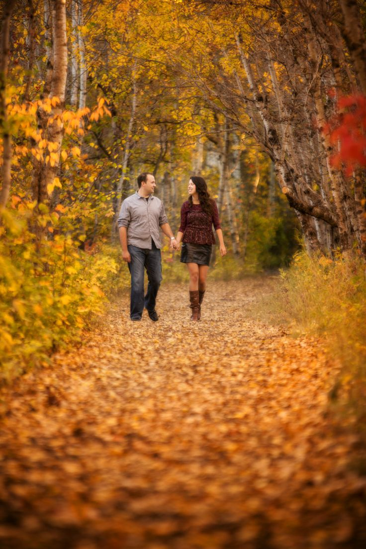 Fall engagement shoots are pretty much the best thing ever.